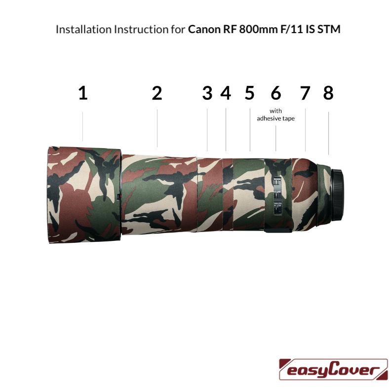 Installation Instruction Canon RF 800mm