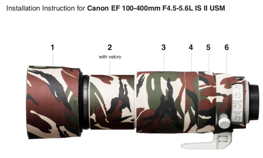 Installation easyCover Lens Oak Canon EF 100 400 II .png