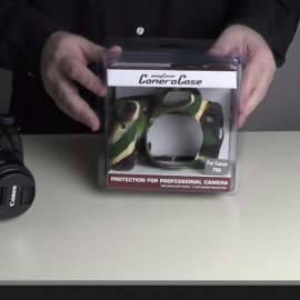 easyCover for Canon 70D camouflage Review in German