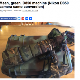 Nikon D850 + battery grip by Barry Levin on Nikon Rumors